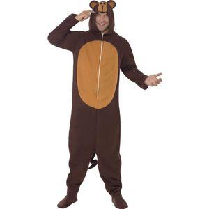 Unisex Kostüm Affe Schimpanse Affenkostüm Karneval Fasching Gr.M