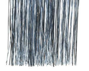 Lametta glänzend 40x50cm, 1 Stück, Farbe:hell blau
