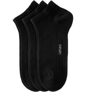 Camano CA-Soft Quarter Uni Kurzsocken 3er Pack, Größen Socken:39-42