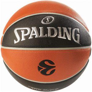 SPALDING Euroleague TF 500 Indoor/Outdoor Basketball orange/schwarz 7