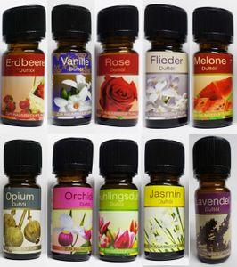 GKA 10 Stück G10 ätherisches Duftöl Ganzjahr Ganzjahresduft Obst Blumen Opium Raumduft ätherisches Öl Duft Zimmerduft Duftöle für Duftlampen Diffusor GP10ml=0,90€