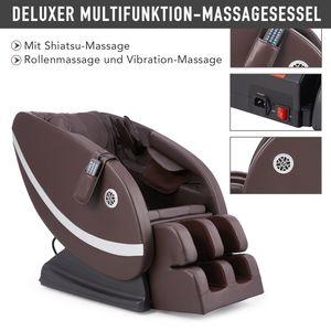 Crenex Deluxer Massagesessel Relaxsessel Multifunktion Mit Heizung Sessel Massage