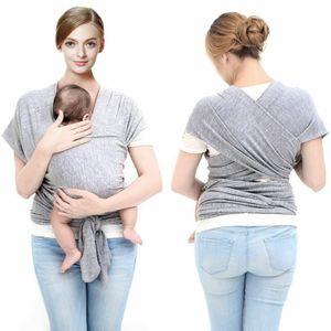 Miixia Babytrage Tragetuch Babytragetuch Bauchtrage Baby bis 20kg Baumwolle Sanft