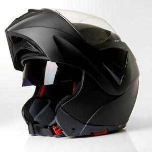 Klapphelm Integralhelm Motorradhelm CMX Vader matt schwarz : S