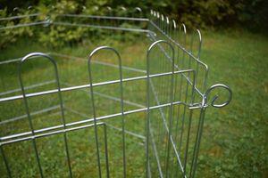 Green Yard Kaninchenzaun 6tlg. verzinkt rabbit fence