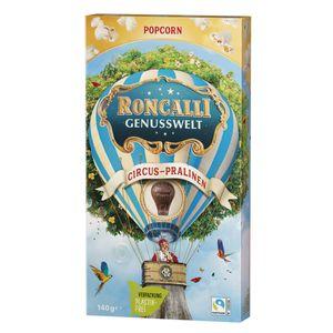 Roncalli Cirus Pralinen einzeln entnehmbar Genusswelt mit Popcorn 140g