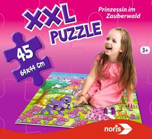 Noris Spiele XXL Puzzle Prinzessin im Zauberwald; 606034961