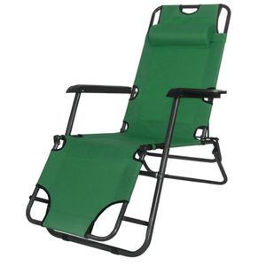 Relaxliege Strandliege Sonnenliege Liegestuhl Gartenliege klappbar - Grün