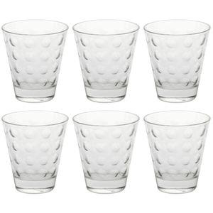 LEONARDO 012683 Optic Glas / Whiskybecher, 250 ml, Ø 8,5 x 9 cm, klar (6 Stück)
