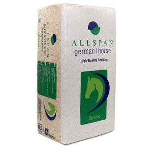 ALLSPAN 18kg Einstreu German Horse Span Xtreme Grob 110l bei Huferkrankung Atemwegserkrankung