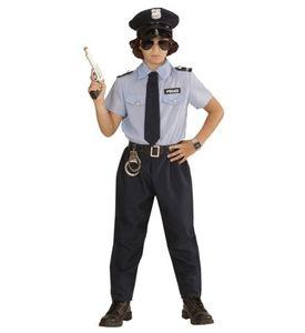 Karneval Polizei Kostüm Kinder / Polizist Jungen # Gr. 116