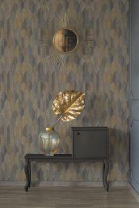 A.S. Création Art Deco Tapete Sumatra Vliestapete silber bronze schwarz 10,05 m x 0,53 m