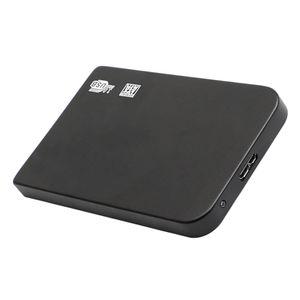 Schwarz Ultra Slim 2,5-Zoll-USB3.0-Festplatte Festplatte mit Festplatten- / SSD-Kapazität für PC 500 GB 118x72x10mm
