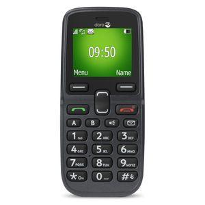 Doro 5030, Balken, Single SIM, 4,32 cm (1.7 Zoll), Bluetooth, 800 mAh, Schwarz