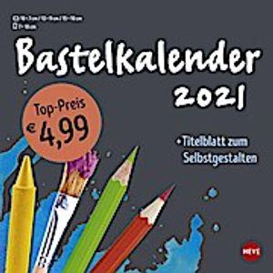 Bastelkalender 2021 klein anthrazit