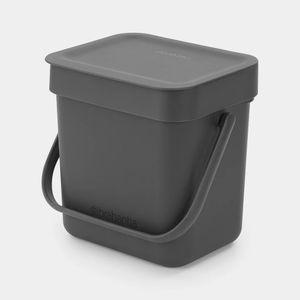 MÜLLKORB 3 l Mülleimer Abfallkorb Behälter Haus Büro Tisch BRABANTIA