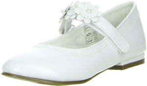 ConWay Mädchen Ballerinas  weiß, Farbe:Weiß, Größe:34