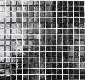 Mosaikfliese Glas schwarz Wandfliesen Badfliese MOS50-0302_f   10 Mosaikmatten