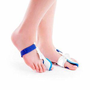 2x Zehenspreizer Zehenkorrektur Ballenschutz Schiene Hallux Valgus Fuß Bandage