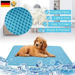Hunde Katzen Kühlmatte Kühlkissen Selbstkühlend Sommer Cooling Matte Kühlen
