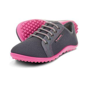 Leguano Aktiv Barfußschuh Damen Anthrazit/Pink NEU - Barfußschuhe DAMEN, Grau