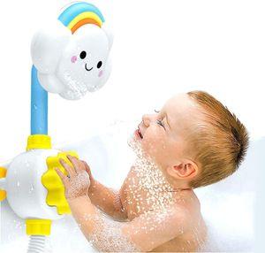 Baby dusche Spielzeug,Wolken Wasserspiel Dusche mit Duschkopf, Badewannen Spielzeug