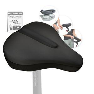 Sattelbezug Gel | atmungsaktiv & rutschfest | Weicher Silikon-Gelüberzug für Fahrradsattel 27*25cm | Fahrrad, Mountainbike, Speedbike, Ergometer | Überzug & Polster SPORTSTECH BSS110