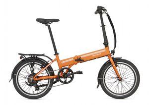 Popal Elektro-Faltrad E-Folt 2.0 20 Zoll 20 cm Unisex 6G Felgenbremse Orange