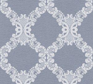 A.S. Création Vliestapete Elegance 5th Avenue Tapete blau grau 10,05 m x 0,53 m 360906 36090-6