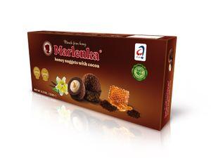 MARLENKA Honigkugeln mit Kakao (Großpackungen 12 x 235g)