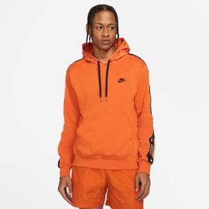 Nike Terry Pullover Kapuzenpullover Hoodie CAMPFIRE ORANGE/CAMPFIRE ORANGE/BLA XL