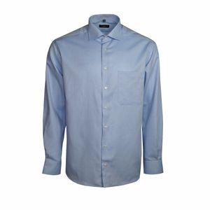 Eterna Herren Hemd Langarm Comfort Fit Blau XXL/45 Hemden 4401/12/E19K