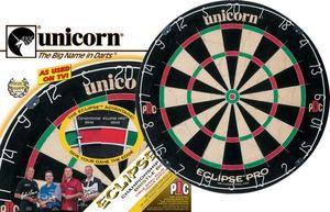 Unicorn ECLIPSE PRO Bristle Steeldart Board Wettkampf - Dartscheibe