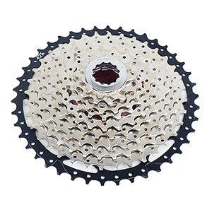 9/10/11/12-geschwindigkeit mehrfach freilauf, 40-52 zahn fahrrad hochfeste Silber 9S 40T