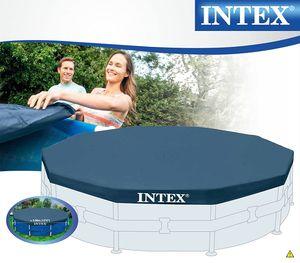 INTEX 28031 Round Pool Cover - Poolabdeckplane - Ø 366 cm