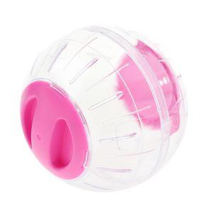 Small Animal Running Play Übungsball für Hamster Crystal Ball pink Rosa 12 cm
