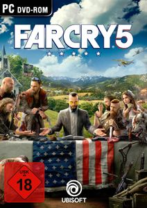 Far Cry 5 - CD-ROM DVDBox