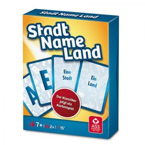 Stadt, Name, Land (Kartenspiel)
