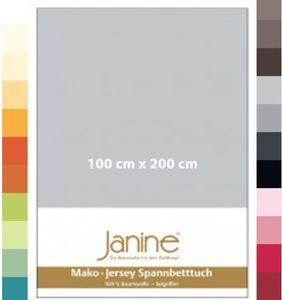 Janine Spannbettuch Mako-Feinjersey, GRÖßE:200 x 200 cm, FARBEN:22-morgennebel