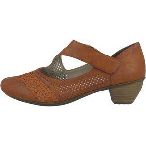 Rieker 41743 Schuhe Damen Slipper Pumps , Größe:39 EU, Farbe:Braun