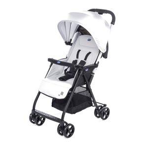Chicco OHlalà, Leichtgewichtiger Kinderwagen, 36 Monat( e), 1 Sitz(e), Schwarz, Weiß, Flach, Feste Räder