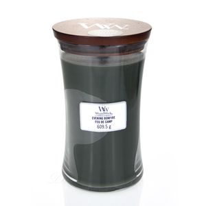 WoodWick Evening Bonfire Großes Glas Duftkerze 610 g