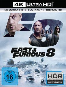 Fast 8 & the Furious (UHD+BR)  2Disc Min: 136DD5.1WS