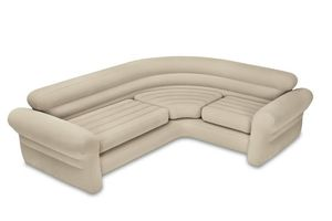 INTEX Corner Sofa- INTEX, Farbe: beige; 168575NP
