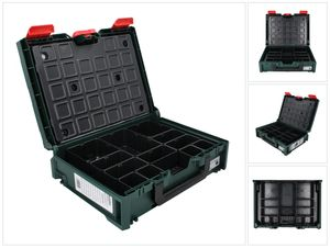 Metabo metaBOX 118 Organizer System Werkzeug Koffer ( 626897000 ) Stapelbar