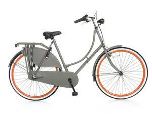 Popal S3 Hollandräder Damen 28 Zoll Frau 3G Rücktrittbremse Dunkelgrau