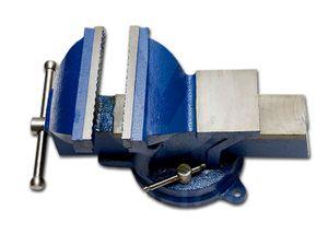 150 mm Schraubstock Parallel Amboss f. Werkbank drehbar Teller 360°