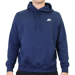Nike Sportswear Club Fleece Hoodie Herren Dunkelblau (BV2654 410) Größe: M