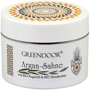 Argan Sahne OHNE Glimmer 200ml, neue Sorte, vegane Body-Butter mit Bio Arganöl