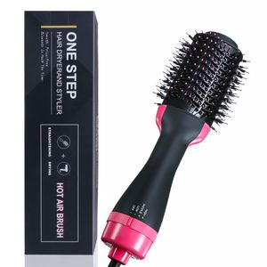 Charminer Rotierende Warmluftbürste Für langes Haar Heißluft-Styler Ionen Haartrockner Drehung Heißluft Styler Multifundamentale Ionen Haarbürste